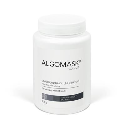 ALGOMASK Caviar Elixir Peel off mask Альгинатная маска для лица с Икрой, 25 г