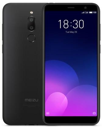 """Смартфон Meizu M6T 3/32GB Black Global, 13+2/8Мп, 8 ядер, 2sim, экран 5.7"""" IPS, 3300mAh, GPS, 4G"""