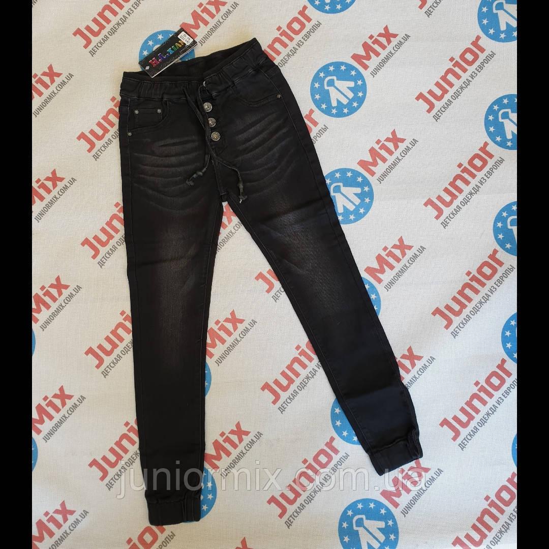 Подростковые чорные  джинсы для девочек  оптом H&L.