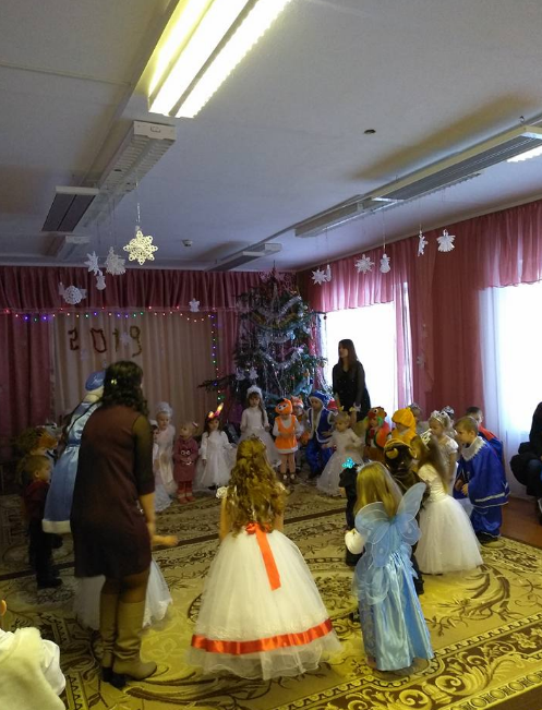 """Основное отопление в детском саду """"Калинка"""". Ровенская область"""