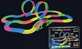 Гоночный трек Magic Amazing Tracks 365 деталей, две мертвые петли