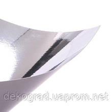 Кардсток серебро глянец 30х30см 255гр/м2
