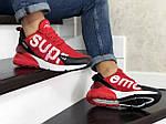 Мужские кроссовки Nike Air Max 270 Supreme (красные) 8854, фото 3