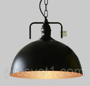 Люстра подвесная WM-D1007 черн.Ф30cm Melody
