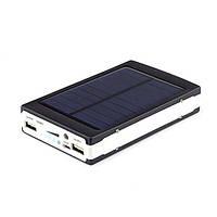 УМБ Power Bank 20000 mAh на солнечных батареях Solar Led панели