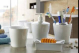 Набор аксессуаров для ванной комнаты 4пр. Irak Plastik /ВА 280
