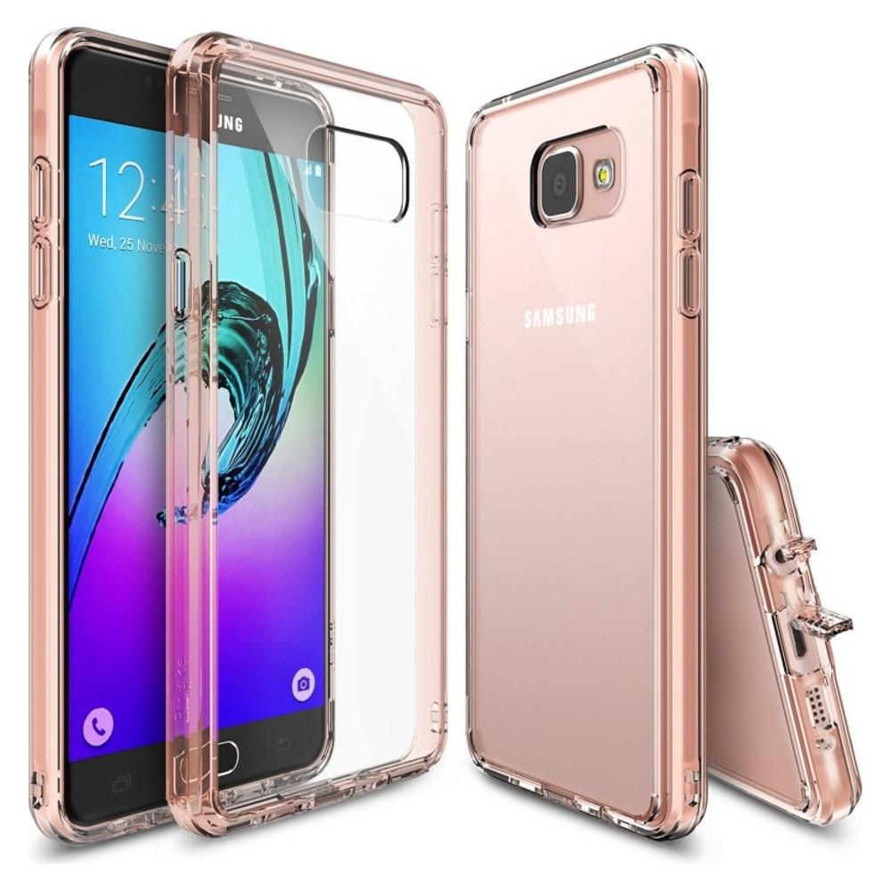 Чохол для Samsung Galaxy A5 (2016) (Rose Gold) – Ringke Fusion