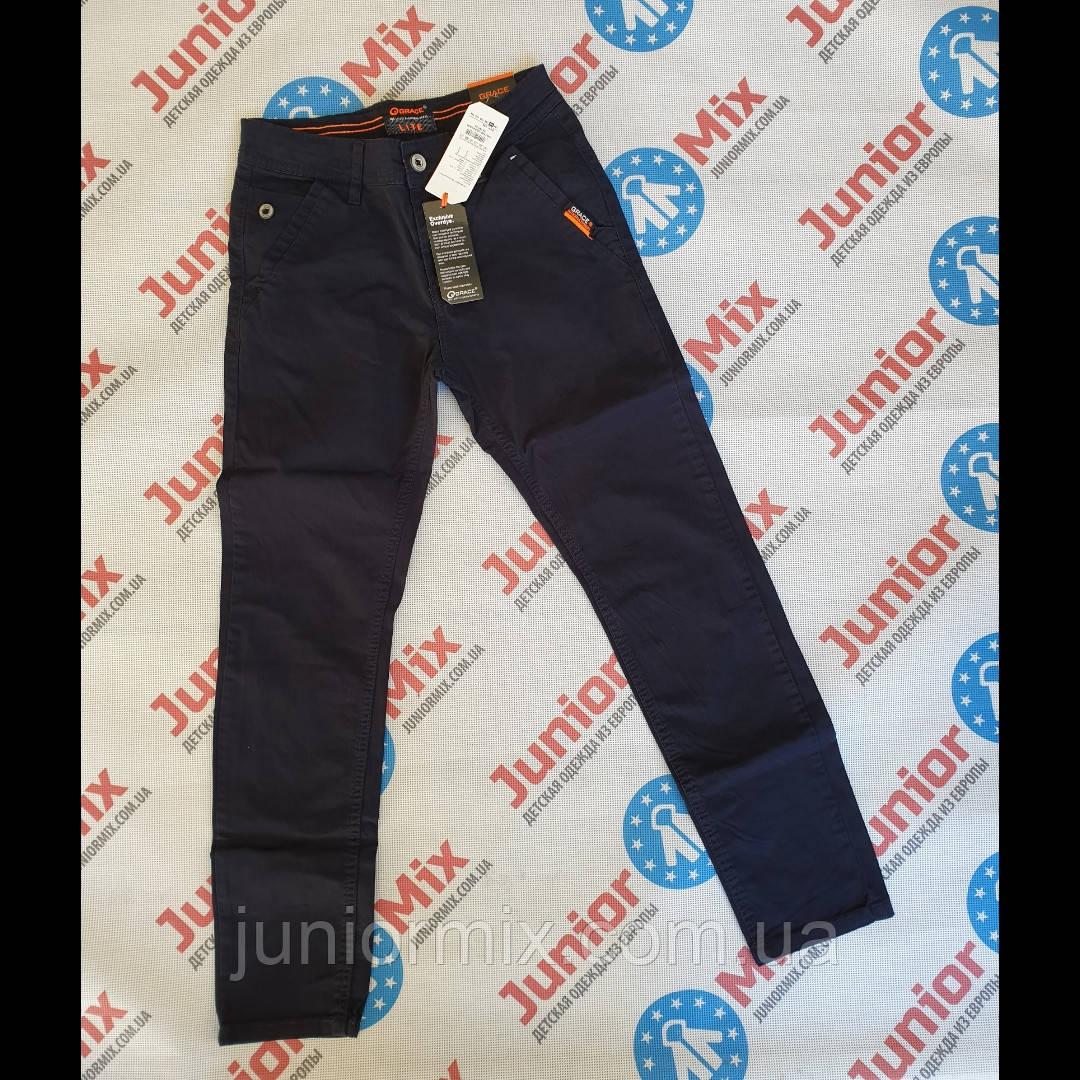 Подростковые котоновые  брюки для мальчиков подростков оптом GRACE