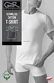 Чоловіча футболка бавовняна Gatta T-shirt 2409S (біла) розмір L