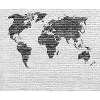 Фотообои Карта Мира лофт (10600)
