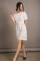 Белое красивое платье, S, M, L