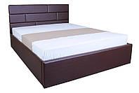 Кровать с мягким изголовьем и подъемным механизмом Джина MELBI 140х200