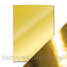 Кардсток золото глянец 30х30см 255гр/м2