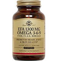 Рыбий жир с Омега 3-6-9 (EFA Omega 3-6-9) 60 капсул