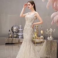 Свадебное Вечерние платье. Весільна Вечірня сукня рибка. Свадебное платье ручной работы