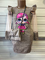 Платье оптом 3-4-5-6-7 лет