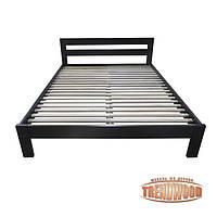 Кровать деревянная Виктория (ольха массив) от производителя. Кровати из дерева. Кровать для спальни из дерева.