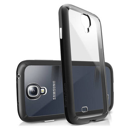 Чохол для Samsung Galaxy S4 (Black) – Ringke Fusion, фото 2
