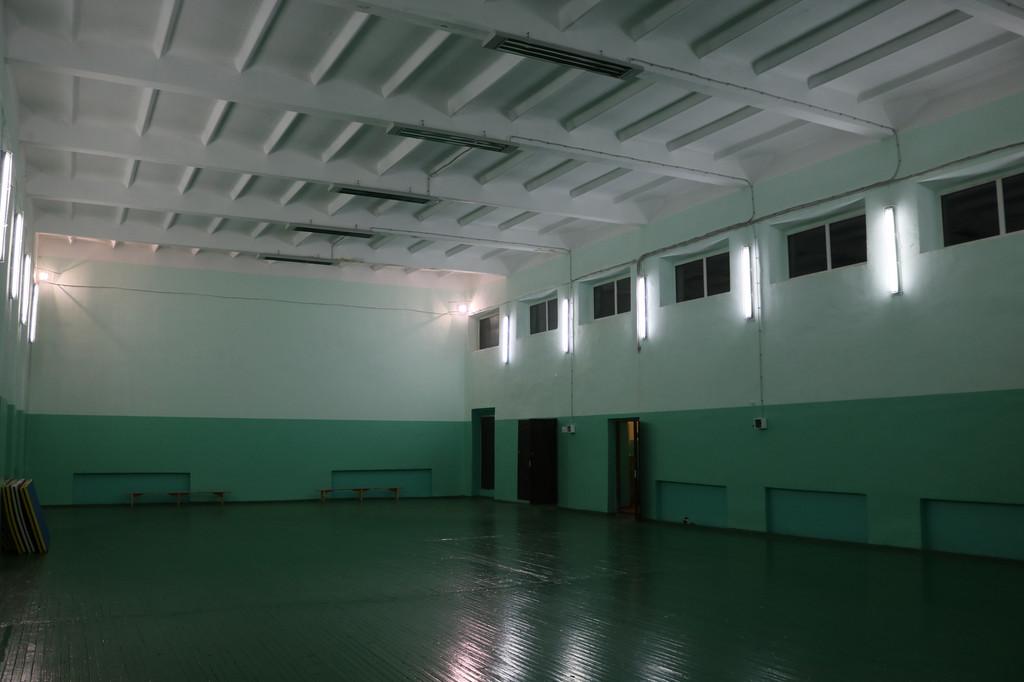 Херсонская область. с.Бриловка. Спортивный зал.