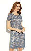 Zaps плаття Kayoko джинсового кольору. Колекція весна-літо 2020, фото 1