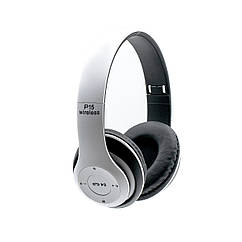 Bluetooth наушники P15 белые
