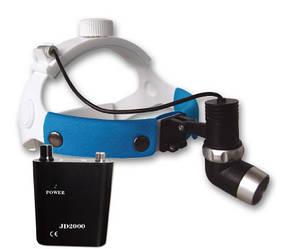 Медичний налобний освітлювач JD2000I LED