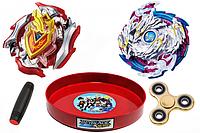 Игровой набор Beyblade Achilles + Nightmare Luinor + Mokuru + Spinner (000000076)