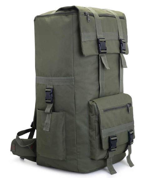 Рюкзак туристический X110A 110 л, олива