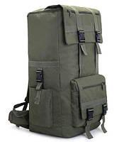 Рюкзак туристический X110A 110 л, олива, фото 1