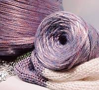 Бобинная турецкая пряжа для вязания  шнурочек Gazzal Rock`n`roll(Gazzal Рок н Ролл)