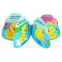 Книжка для купания Baby Mix Уточка BD-31136