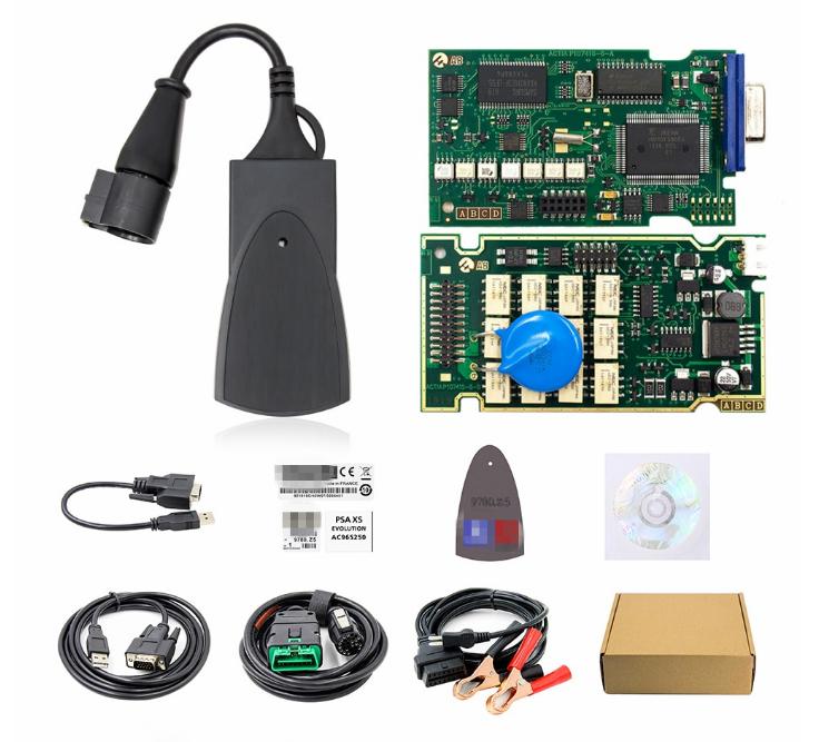 Профессиональный OBD2 сканер Lexia 3 FULL chip, Диагностика Citroen, Peugeot, DiagBox 7.83, PP2000