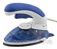 Ручной отпариватель паровой утюг с щеткой GHD HT-558B Blue (4910)