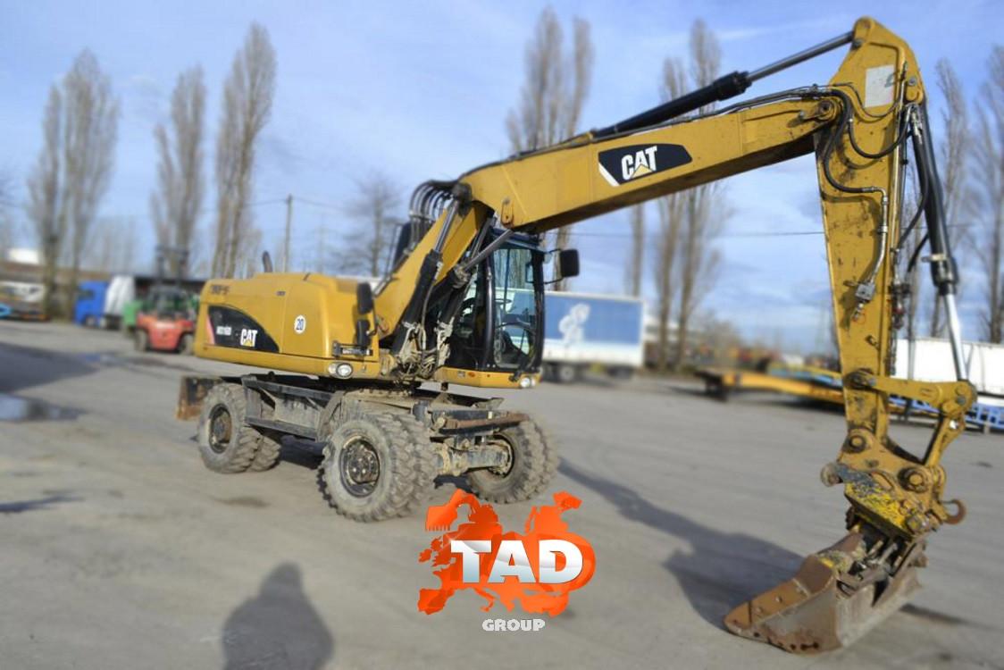 Колісний екскаватор CAT M316D (2010 р)