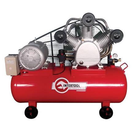 Компрессор 300 л, 15 кВт, 380 В, 8 атм, 2000 л/мин. 3 цилиндра INTERTOOL PT-0052, фото 2