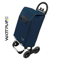 Сумка-тележка Aurora Avanti 4 Basic 50 Blue для ежедневного шопинга