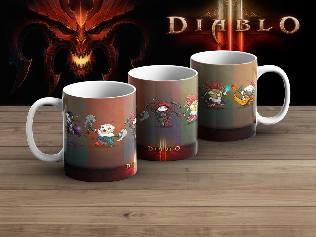 Чашка персы Диабло 3 / Diablo III