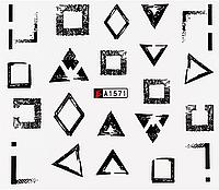 Слайдер водный для дизайна ногтей А-1571