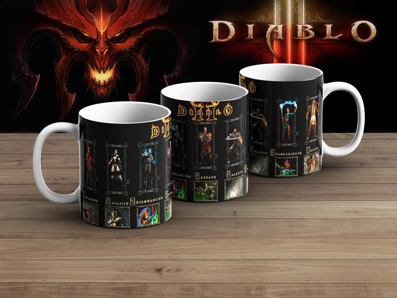 Чашка Диабло 2  Диабло 3 / Diablo III