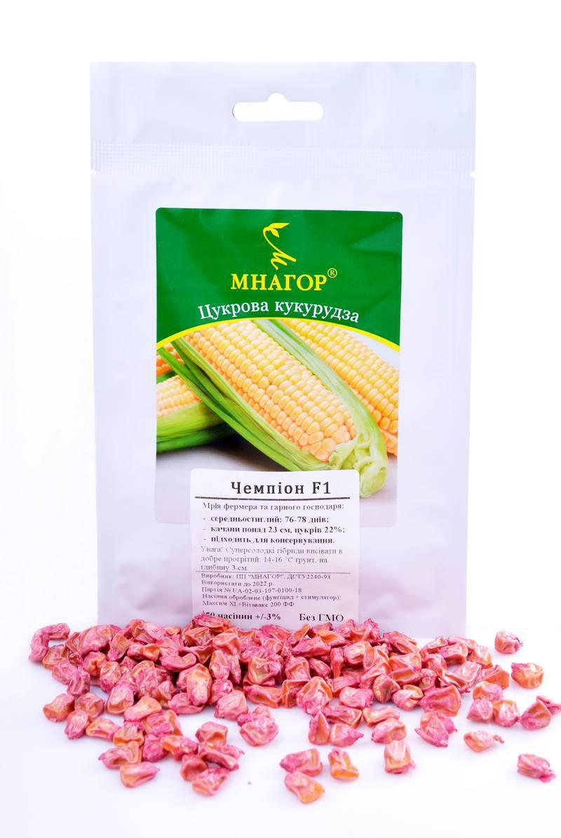 ТМ МНАГОР Кукуруза сахарная Чемпион F1 50шт
