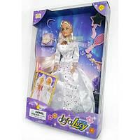Кукла в шикарном бальном платье DEFA 20961
