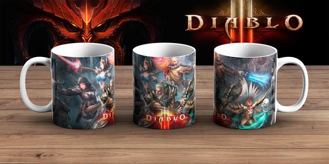 Кружка Диабло 3 / Diablo III