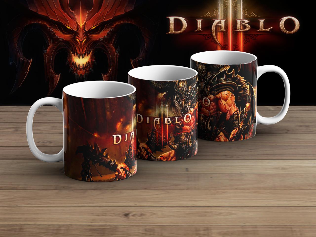 Чашка берсерк Диабло 3 / Diablo III