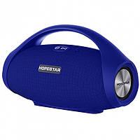 Мощная портативная Bluetooth колонка с влагозащитой Hopestar H32 Sound System Pro Blue
