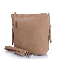 Женская сумка-планшет из качественного  кожезаменителя amelie galanti (АМЕЛИ ГАЛАНТИ) a610-l-muddy