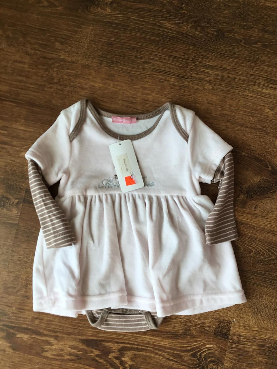 Детское платье для новорожденного
