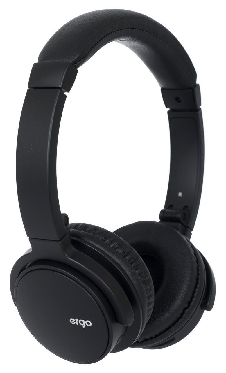 Наушники накладные беспроводные с микрофоном ERGO BT-490 Bluetooth Черный