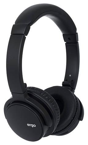 Наушники накладные беспроводные с микрофоном ERGO BT-490 Bluetooth Черный, фото 2