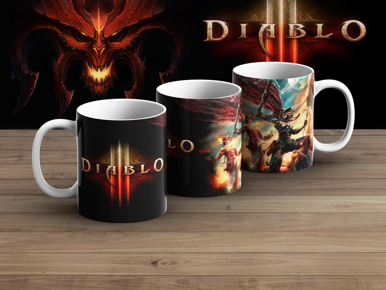 Чашка поле боя Диабло 3 / Diablo III