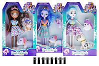 """Лялька """"Enchantimals"""" з домашнім улюбленцем, 3 види, XM1090"""